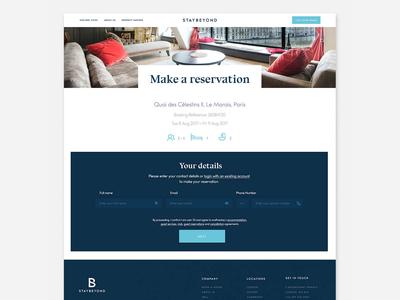 Website Design Staybeyond