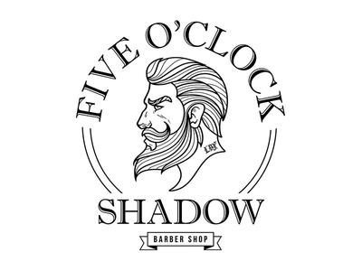 Five O'Clock Shadow Logo design logo