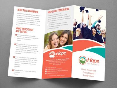 NAMI Hope Brochure community humanitarian help mental illness