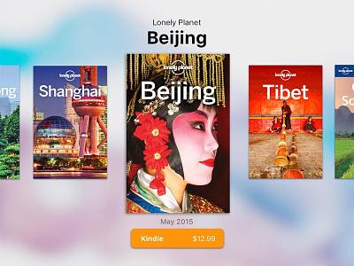 Floating Bookshelf cityguidebook asia travel booklist mylonelyplanet floatingbookshelf 100days100ui day027 design ui