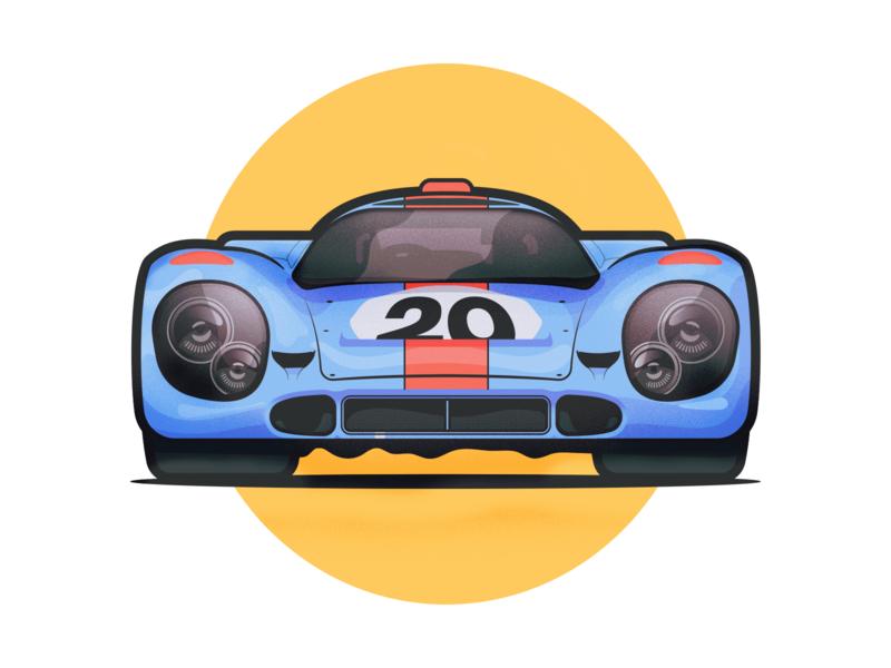 Porsche 917 K Gulf