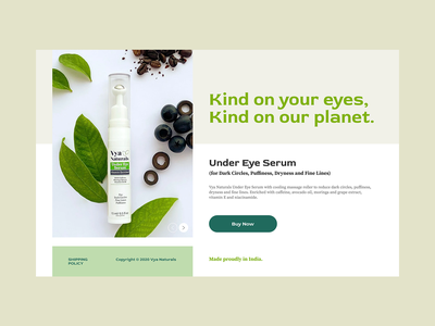 Skincare branding mobile web android ios flat green pastel nature eyes product design shop now ui ux ux ui figma skincare