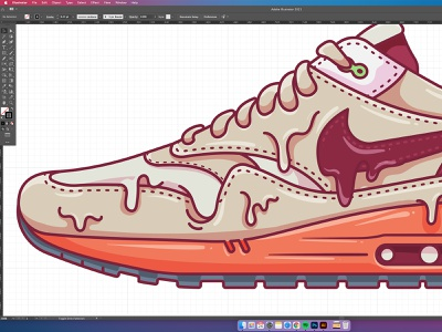 Kiss of Death sneakers wip flat nike shoes air max dj khaled clot illustration nike