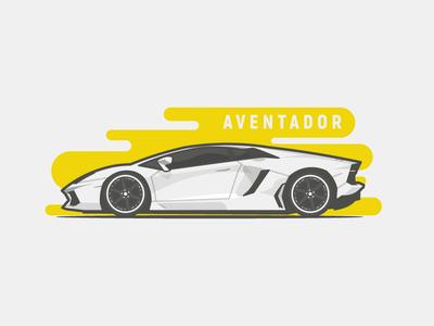 Aventador! stroke sport yellow white new auto car muscle supercar aventador lamborghini