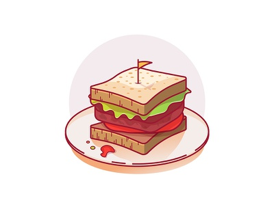 Sandwich yummy fast food pizza burger leaf sauce hungry plate cheese bread food sandwich