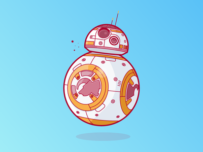 BB8 droid jedi yoda skywalker luke kylo darth vader planet city bb8 star wars