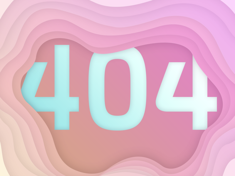 404 gradient 404 page 404