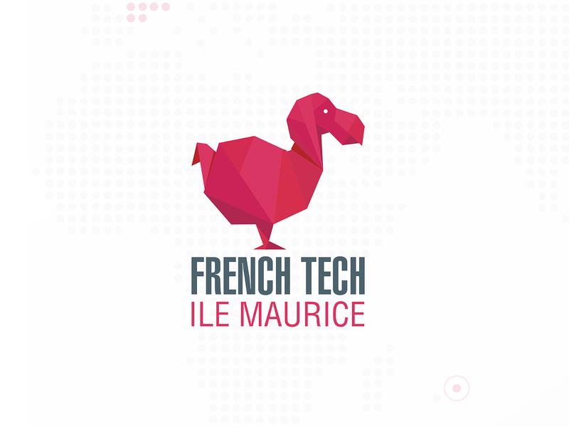 French Tech (Mauritius) papercraft origami bird dodo ile maurice mauritius tech french logo