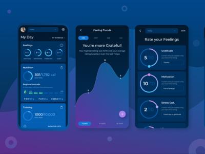 Keystone Health & Fitness - Redesign of Mobile App