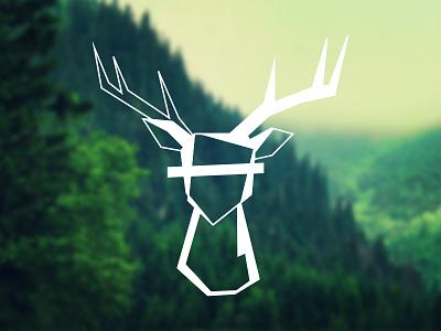 Deer Illustration illustration sketch drawing geometric animal deer
