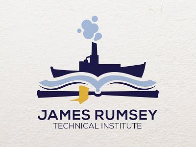 James Rumsey Technical Institute Branding identity design logo branding