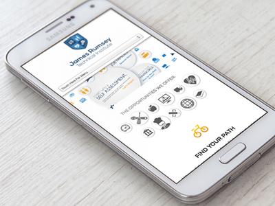 James Rumsey Technical Institute   Responsive Web Design graphic design mobile site website web design