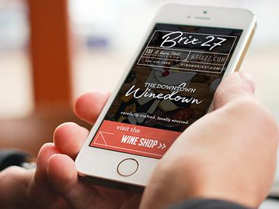 Brix 27 Responsive Website branding website web design
