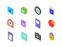 2.5d icon
