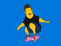 dailylook :) skateboard