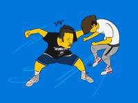 dailylook :) fight