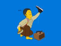A Shoeshine Boy