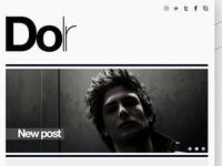 Next Tumblr theme : Dolr