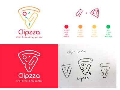 Clipzza Logo Design