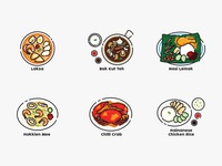 Singapore signature food