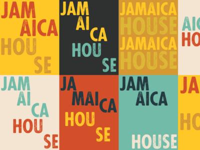Jamaica House Tiles jamaica typography richmond branding design