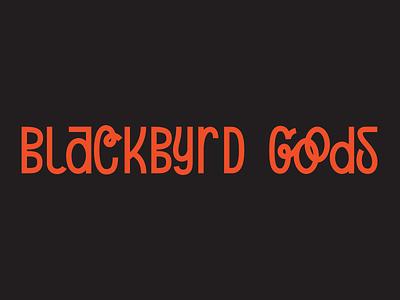 Blackbyrd Disney Script virginia vector red black logo lettering branding richmond typography