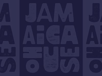 Modular Jamaica House Type poster lettering branding design richmond typography