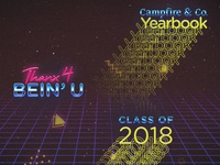 Unused Campfire Yearbook Cover