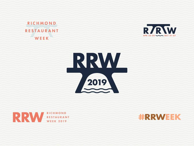Richmond Restaurant Week re-branding restaurant richmond branding logo typography