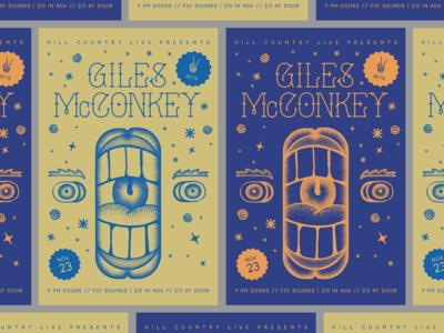 Giles McConkey Live
