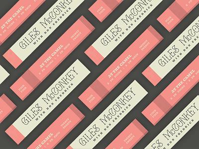 Four Four Twenty Twenty preview tickets tix merch poster band 420 richmond design typography