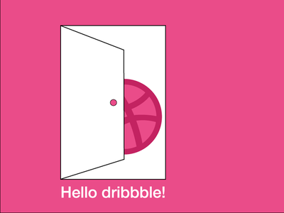 Hello dribbble - my first shot debut first shot