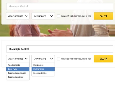 Search box elements search box form ui dropdown user interface clean design filters checkbox button