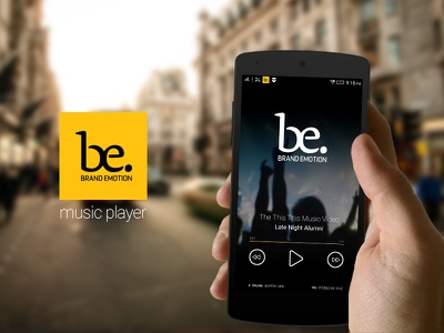 Android music player mobile app mobile android player