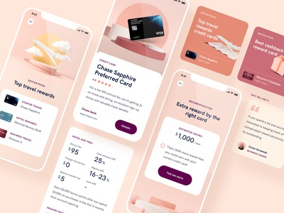 Finance Credit Card UI UX finance app app ui banking uiux credit card finance ui design ui