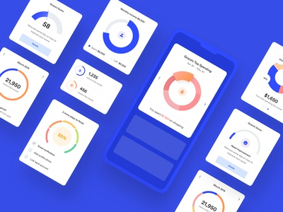 Graph Collection - Mobile UI UX