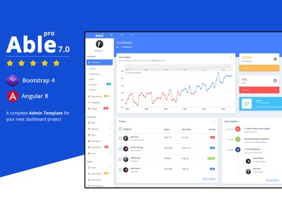 Able Pro Bootstrap & Angular Admin Template