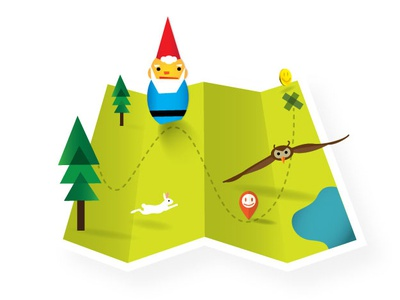 Gnome Map map icon