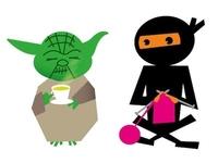 Yoda and Ninja