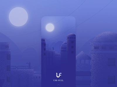 Login page startup page login page 设计 gif 插图 ui ae