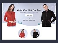 Winter Wear Fashion Banner ❄