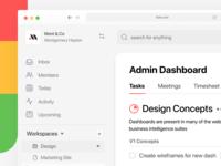 To Do List App schedule task management check list simple boards cards management task manager task dash dashboard minimal app web design clean interface ui ux