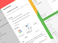 To Do List App pt.2 task manager software simple cards boards management task management schedule task list dash dashboard search app web design clean interface ui ux