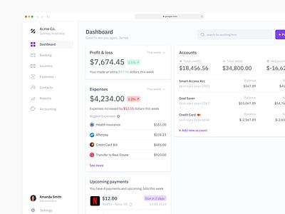 Online Banking Pt.1 money pay transfer bank online banking finances dashboard ui finance dash dashboard search minimal app web design clean interface ux ui