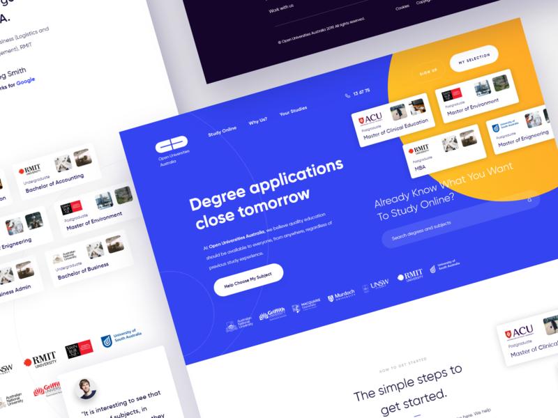 Online Degree website