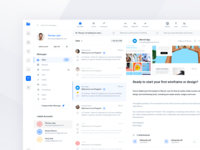 Design Project Management Tool Email