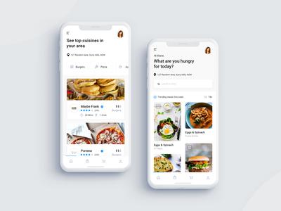 Takeaway Food App Design