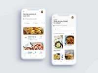Takeaway Food App Design
