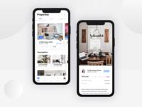 Real estate App Concept
