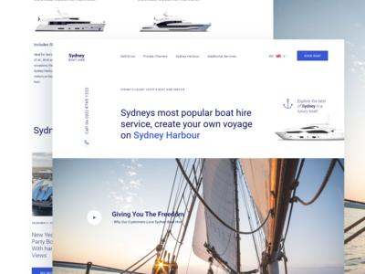 Luxury Boat Website